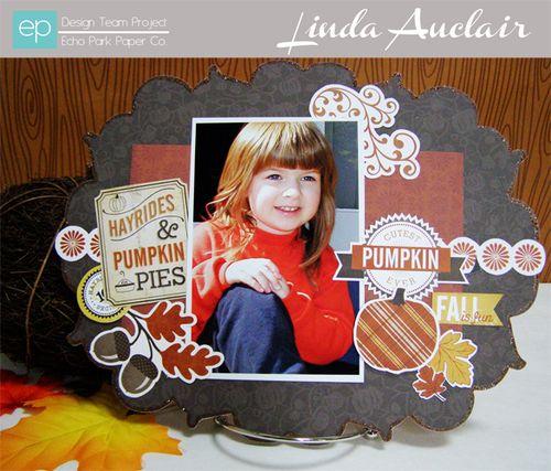 Fall Frame by Linda Auclair