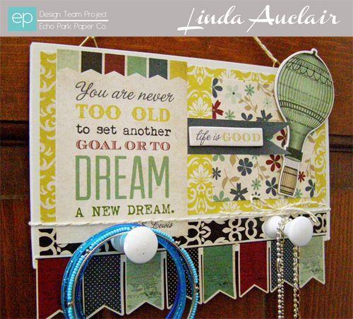Jewelry Organizer by Linda Auclair