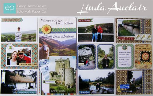 Ireland Photo Freedom Double-Page Spread by Linda Auclair