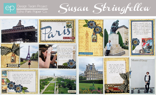 Paris Photo Freedom Double-Page Spread by Susan Stringfellow